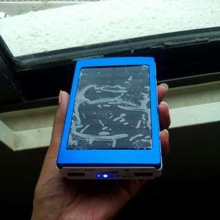 Solar charger 8000mAh Solar Charger Dual USB External Battery Power Bank