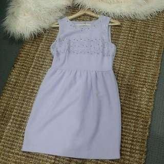 Tokito Lilac Lace Dress Size 10