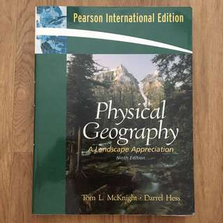 Physical Geography: A Landscape Appreciation 9th Edition