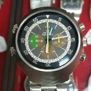 1969 Omega Flightmaster 910 with Tropical sub-registers - Collector's Item