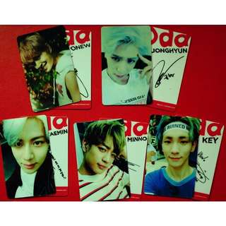 (Unofficial) *PREORDER* SHINee Odd Album Photocards