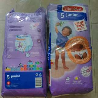 Giveaway For Now!!!!!!!(Just Need To Give Me A Pack Of Huggies Wet Wipes)       Reduced To $18 Junior Diaper Pants 13-20Kg