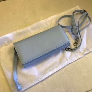 粉藍色 錢包 / 手袋