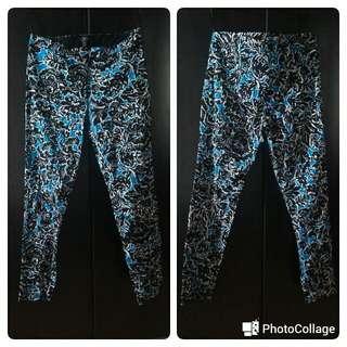 Topshop Floral Printed Trousers/pants