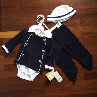 Baby 3 Pieces Set 6-9M