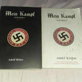 2 buah buku mein kampf adolf hitler..kondisi ok