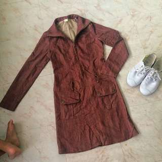 Coat Type Dress