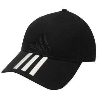 Adidas Performance 3 Stripe Logo Cap