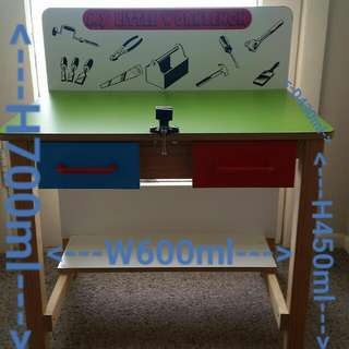 Wooden tool/workbench