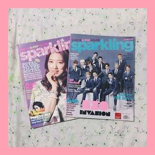 EXO's First And Second Feature On Sparkling Magazine (Collectors Item)