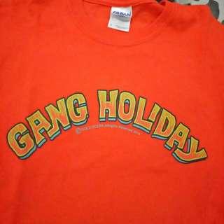 T-shirt Band Malang - Gang Holiday