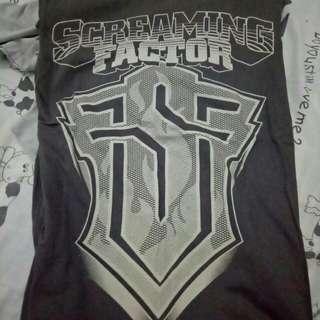 T-shirt Band - Screaming Factor