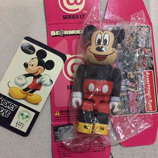*RESERVED* Bearbrick Mickey Mouse Series 17