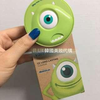 The Face Shop 迪士尼聯名 CC持久妝感氣墊粉餅(大眼仔)款
