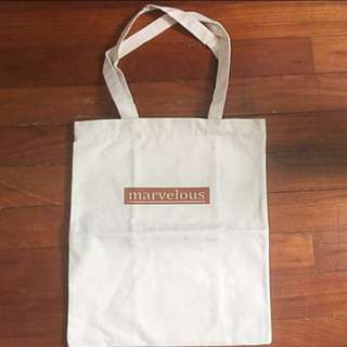 Marvelous Quote Tote Bag