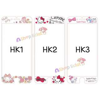 *CLEARANCE* Hello Kitty iPhone 6/6s/6plus/6splus/7/7plus Tempered Glass Screen Protector