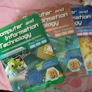 Pearson Computer and Information Technology (Second Edition) 1A/2A/3A