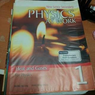 Pearson New Senior Secondary Physics At Work 1/2/3A/3B/4/5/E3