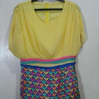 Repriced!! Yellow Dress