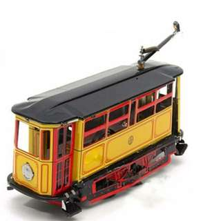 [懷舊鐵皮玩具]老式電車