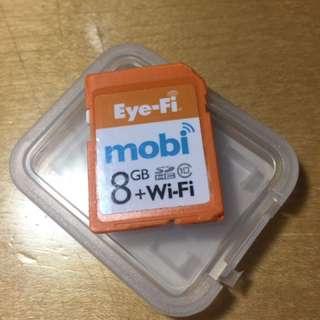 Eyefi wifi sd card 8gb (Ricoh GR 可用)