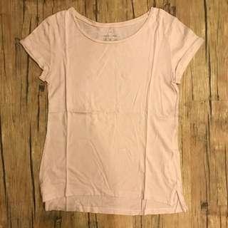 Basic T Shirt Pink Stradi