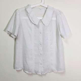 復古棉麻襯衫