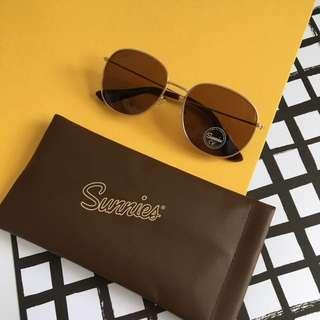 Classic Brown Sunglasses Eyewear