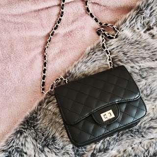 Black Purse (clutch) Bag