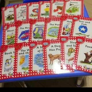 包順豐 Jolly Phonics 18books
