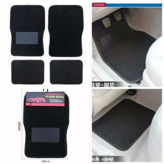 4 Pcs Car Universal Floor Mats