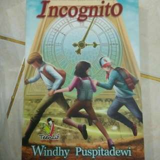 Novel Incognito - Windhy Puspitadewi