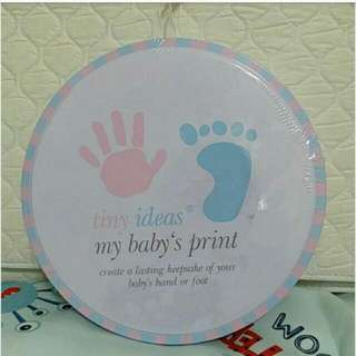 Baby Hand & Foot Print