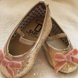 Cotton On Glitter Gold Shoes