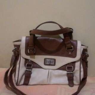 Brown Khaki Handbag