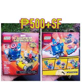 Lego Mighty Micros Marvel 76065-1set Only Onhand