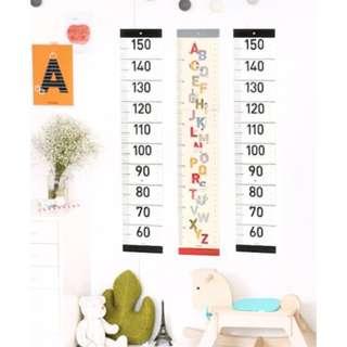 可愛兒童房裝飾 身高牆貼 身高卡通尺 量身高牆貼 壁貼#Y170