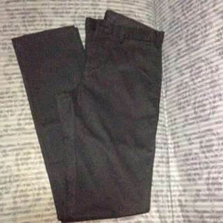 UNIQLO CHINO PANTS - BLACK