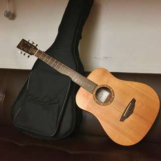 Veelah 旅行吉他 TOGO- SE 電木吉他