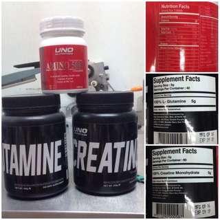 Workout Supplements (Amino Creatine Glutamine)