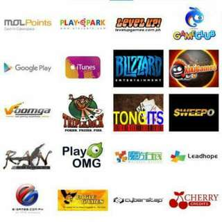 E-load For Online Games And Emergency Loading To All Networks. (Any Amount) Scroll Right To Check All Networks
