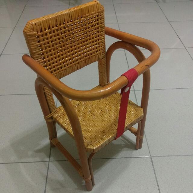 籐編機車安全座椅(近全新)