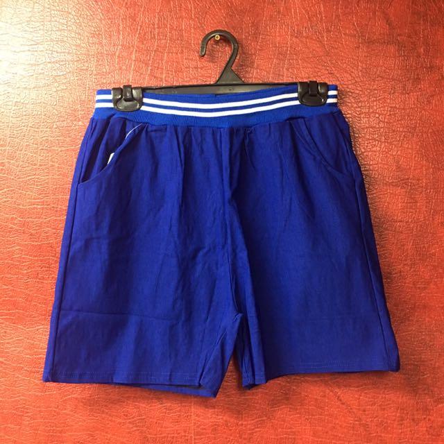 韓國糖果色運動短褲