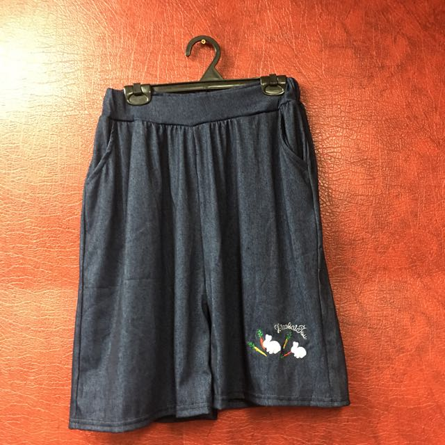 輕薄夏日棉質短褲