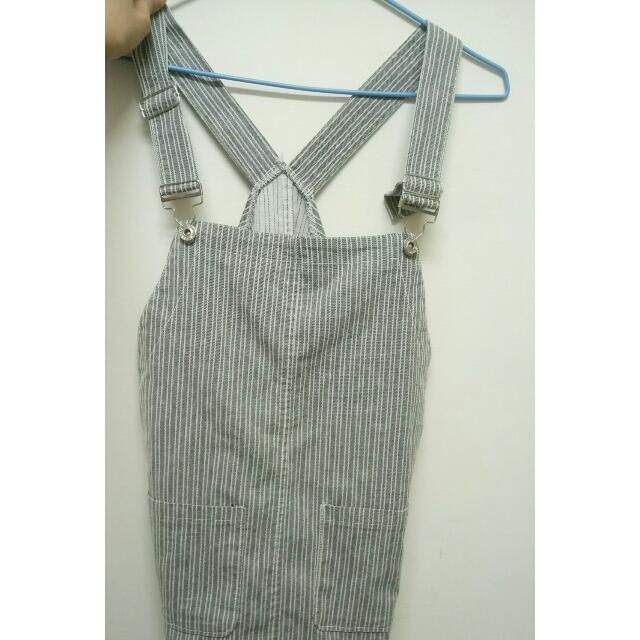 線條連身裙裙