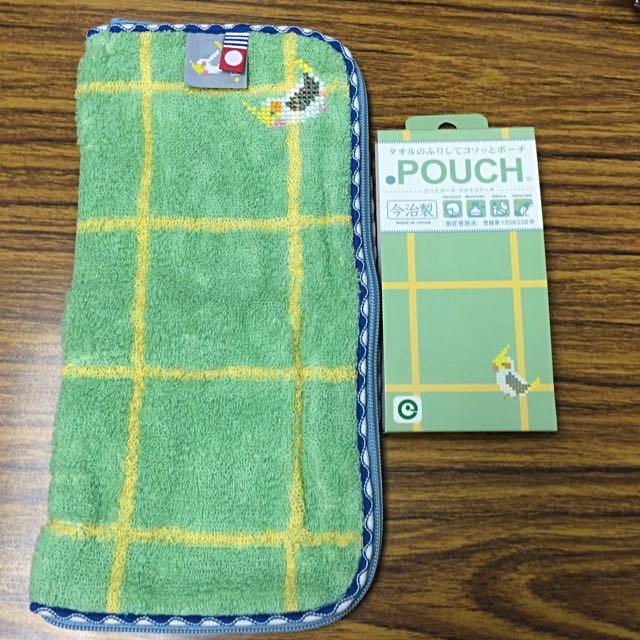 日本今治製 萬用毛巾布收納袋