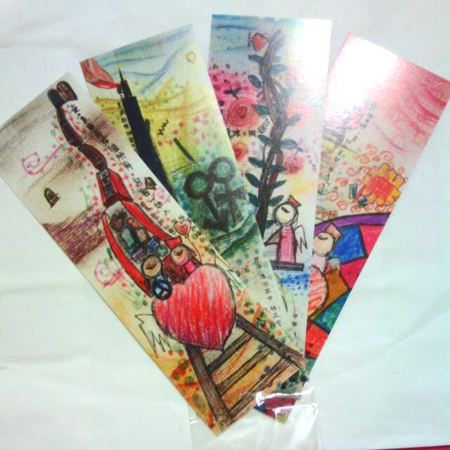 滬江高中 書籤 小卡 套卡 #十月免購物直接送