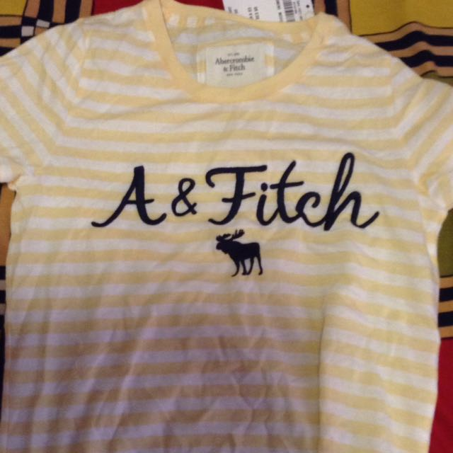ABERCROMBIE AND FITCH TOP BRAND NEW