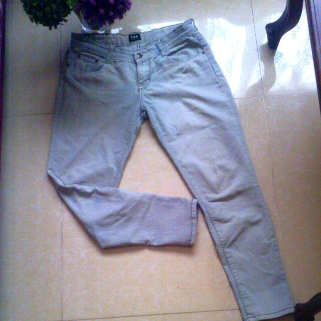 Acid Wash Lee™ Skinny Fit pants