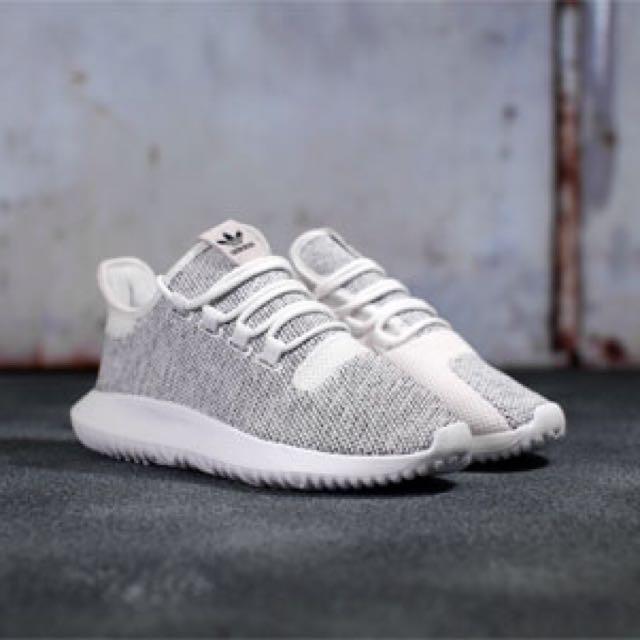 Adidas Tubular Shadow Knit White, Men's